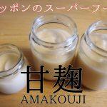 甘麹(甘酒)は腸活・離乳食に良い!材料3つの簡単な作り方。
