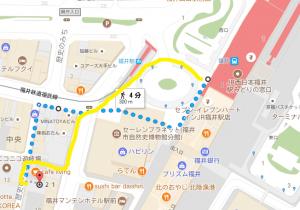 福井駅周辺地図