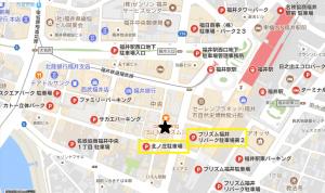 福井駅周辺駐車場マップ