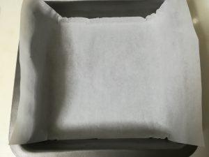 ステンレスのケーキ型